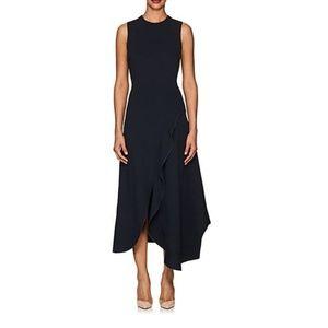 Victoria Beckham's black ponte midi-dress